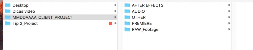 Como criar um projecto no Adobe Premiere - screen 1 criar projecto Adobe Premiere  Criar projecto no Adobe Premiere | Adobe Premiere Tutorial Folder Project 1024x206