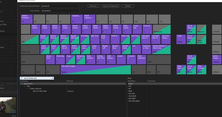Image Resize no Adobe Premiere Pro Keyboard  - Premiere Pro Tip Import Size 3 - Image Resize no Adobe Premiere Pro | Tutorial Adobe Premiere | Dicas para Editores