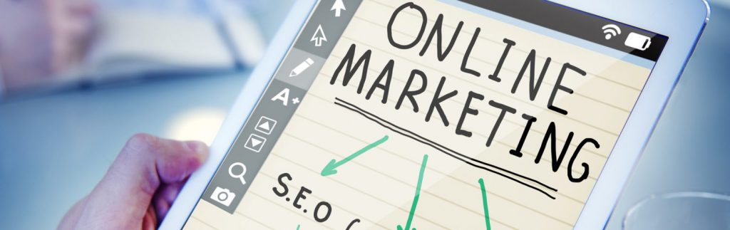 Estratégias para 2018  Marketing DigitalPrincipais Estratégias para 2019 online marketing 1246457 1920 banner 1024x323