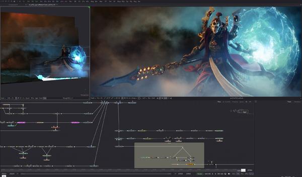 Blackmagic-Fusion-Axis-sofwares gratuitos para fazer videos-lI  3 melhores softwares gratuitos de 2019 para editar os seus vídeos Blackmagic Fusion Axis dw3