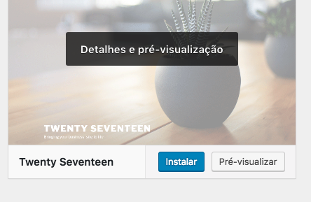 Como Instalar um Tema no WordPress 5