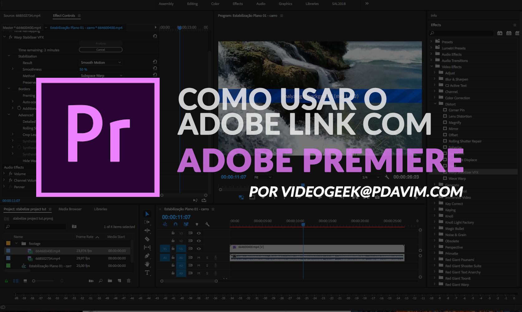 adobe link-pdavim Adobe Link | After Effects e Adobe Premiere Pro | Tutorial Adobe Premiere Pro - adobe link pdavim - Adobe Dynamic Link | Tutorial After Effects | Adobe Premiere Pro