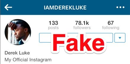 Fake Followers  Como remover Fake Followers do Instagram? those celebrity impersonating instagram accounts might be totally legal