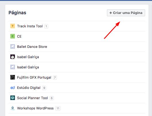 - 1 Como criar uma pa  gina no Facebook para a sua empresa - Como criar uma página no Facebook para a sua empresa