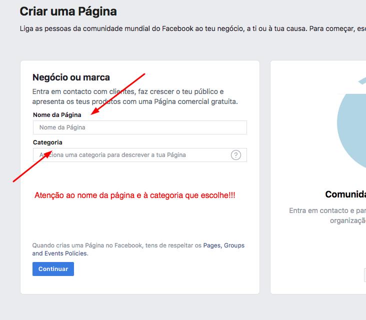 - 3 Como criar uma pa  gina no Facebook para a sua empresa - Como criar uma página no Facebook para a sua empresa